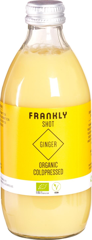 Biologische Frankly Ginger shot 330 ml