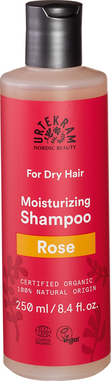 Biologische Urtekram Shampoo rozen (droog haar) 250 ml