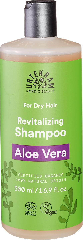 Biologische Urtekram Aloe vera shampoo (droog haar) 500 ml