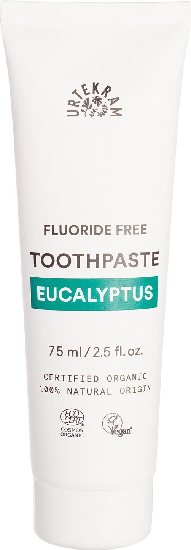 Biologische Urtekram Tandpasta eucalyptus 75 ml