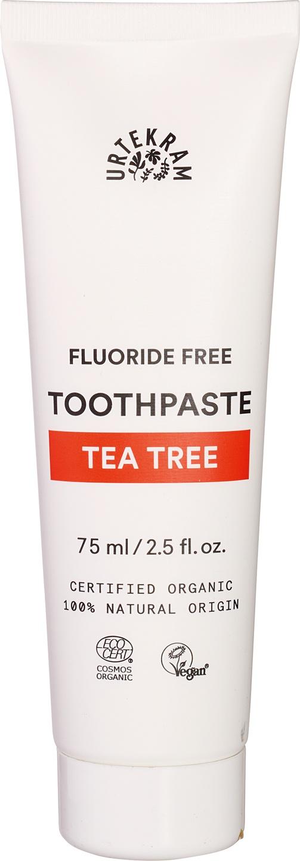 Biologische Urtekram Tandpasta tea tree 75 ml