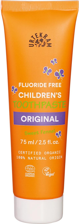 Biologische Urtekram Tandpasta kids original 75 ml