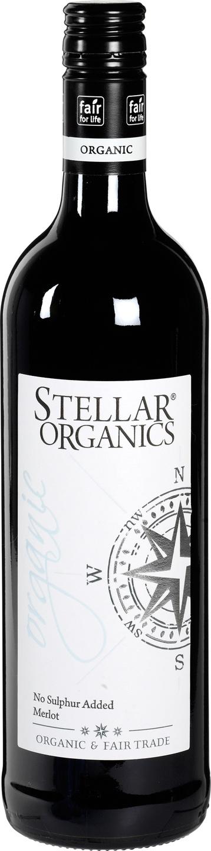 Biologische Stellar Organics Merlot (NSA) 750 ml