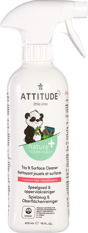 Biologische Attitude Speelgoed- & oppervlaktereiniger 475 ml