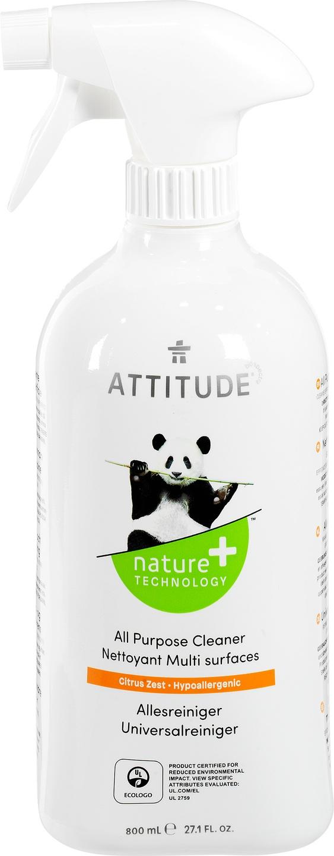 Biologische Attitude Allesreiniger citrus 800 ml