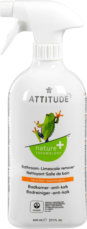 Biologische Attitude Badkamerreiniger anti-kalk 800 ml