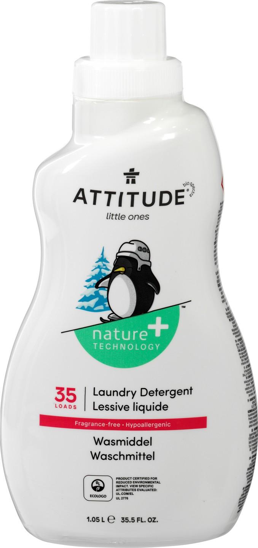 Biologische Attitude Wasmiddel hypoallergeen 1.05 L