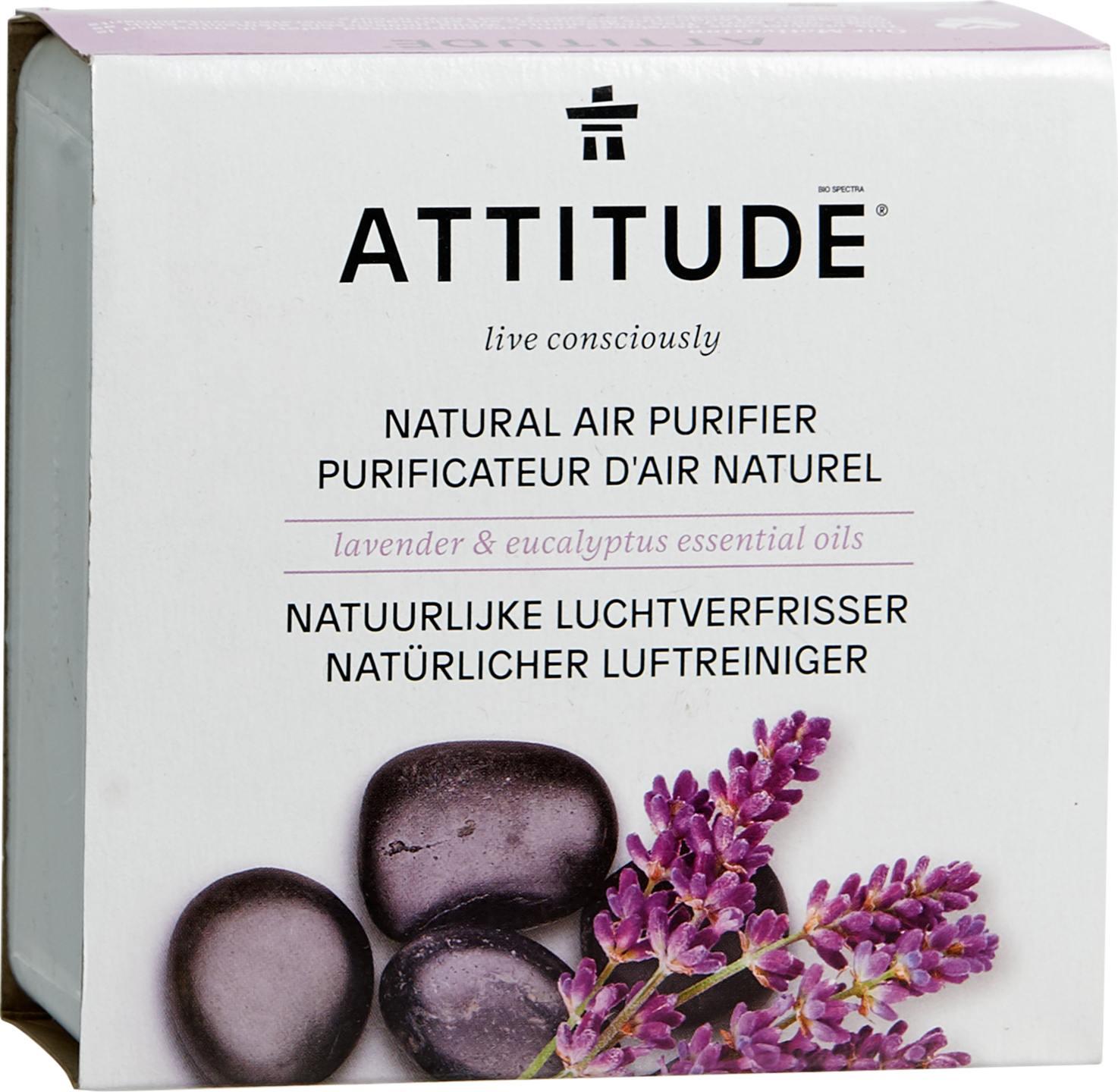Biologische Attitude Luchtverfrisser lavendel eucalyptus 227 gr
