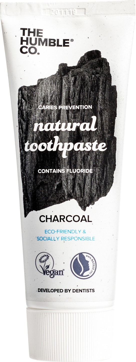 Biologische The Humble Co. Tandpasta charcoal 75 ml
