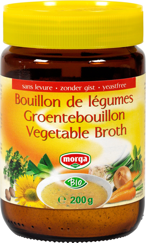 Biologische Morga Groentebouillon vet-/gistvrij 200 gr