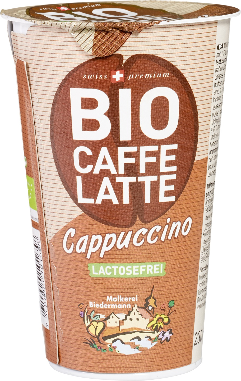 Biologische Biedermann IJskoffie cappuccino 230 ml