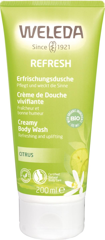 Biologische Weleda Douchecreme citrus 200 ml