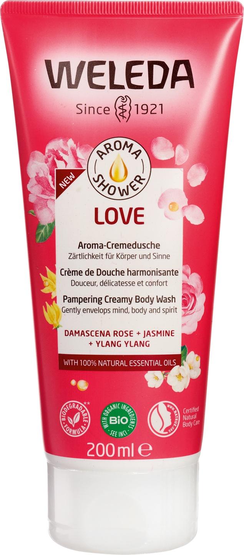 -25% SALE | Biologische Weleda Aroma shower love 200 ml