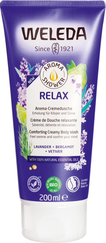 Biologische Weleda Aroma shower relax 200 ml