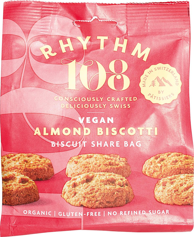 Biologische Rhythm 108 Amandel biscuit 135 gr