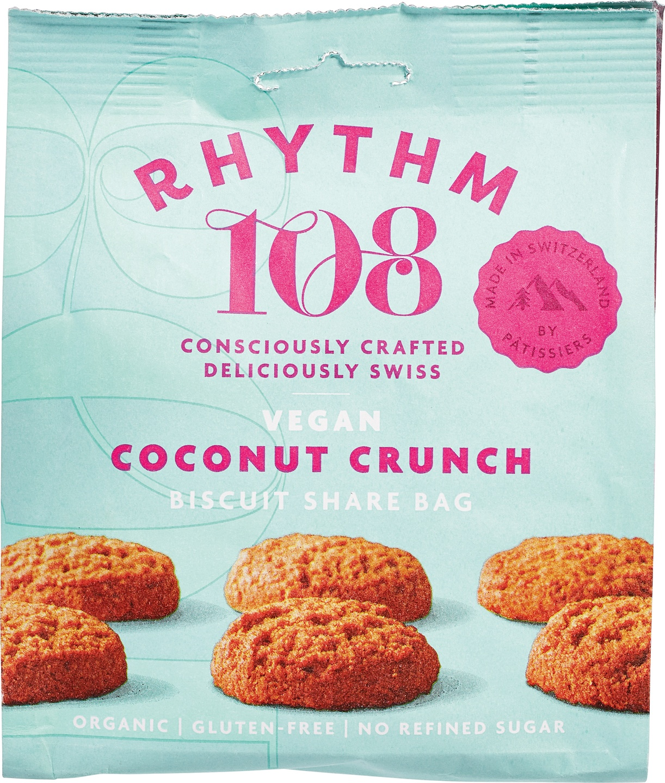 Biologische Rhythm 108 Kokos koekje 135 gr