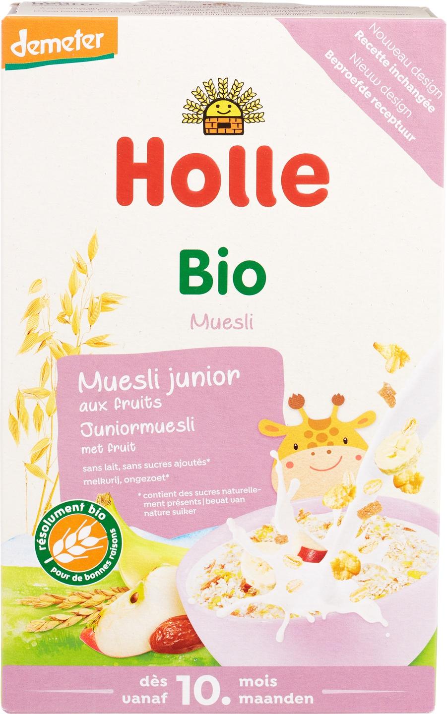 Biologische Holle Junior muesli multigrain with fruit 250 gr