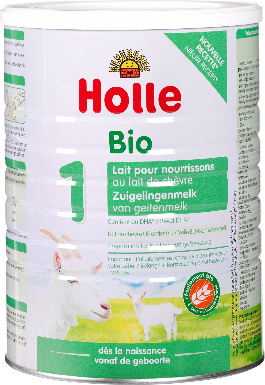 Biologische Holle Zuigelingenmelk 1 geitenmelk 800 gr