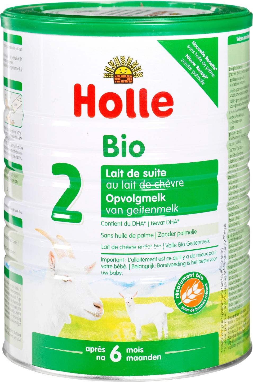 Biologische Holle Opvolgmelk 2 geit 800 gr
