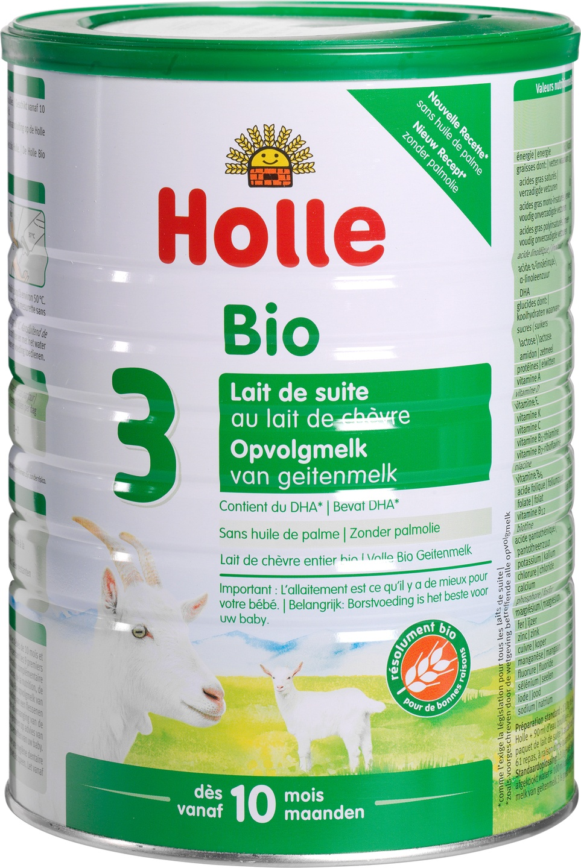 Biologische Holle Opvolgmelk 3 geit 800 gr