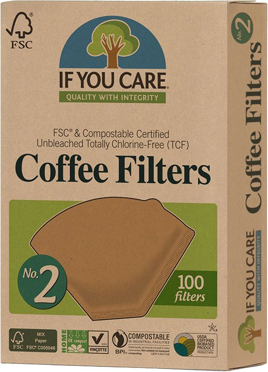 Biologische If You Care Koffiefilters nr. 2 100 st