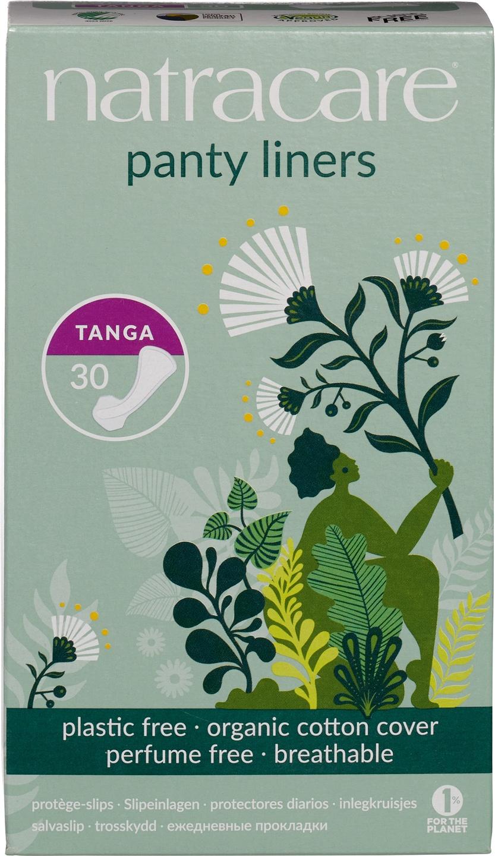 Biologische Natracare Inlegkruisje tanga 30 st