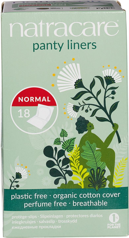Biologische Natracare Inlegkruisjes normal 16 st