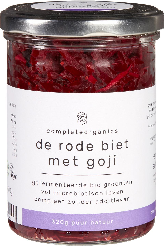 Biologische Completeorganics Gefermenteerde rode biet - gojibes 320 gr