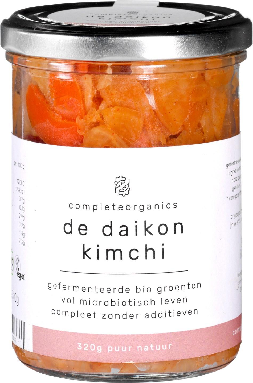 Biologische Completeorganics Kimchi daikon 320 gr