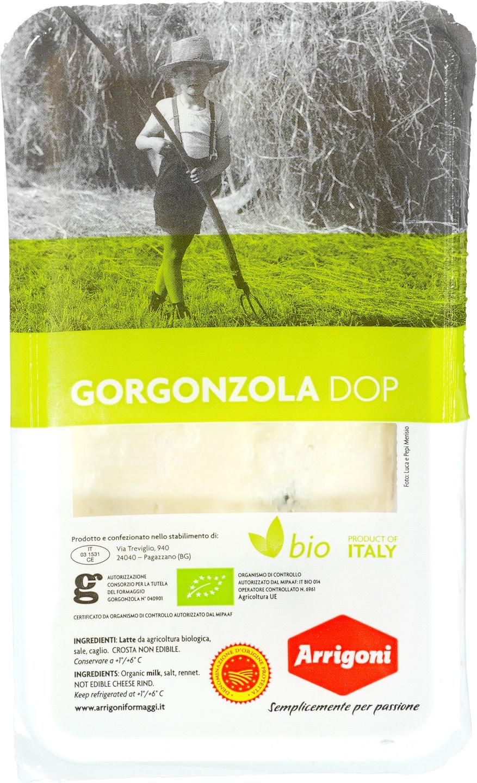 Biologische Arrigoni Gorgonzola 200 gr