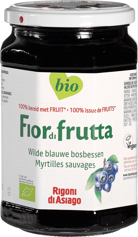 Biologische Fiordifrutta Blauwe bosbes fruitbeleg 630 gr