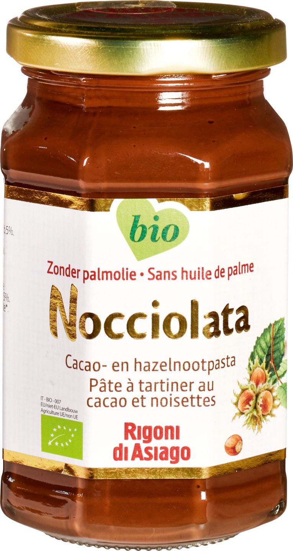 Biologische Nocciolata Choco-hazelnootpasta 270 gr