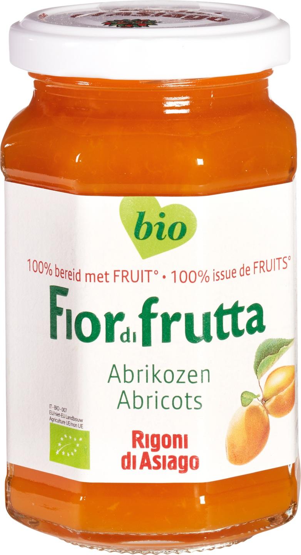 -23% SALE   Biologische Fiordifrutta Abrikozen fruitbeleg 250 gr