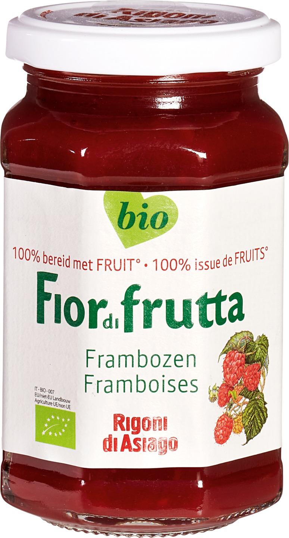 -23% SALE   Biologische Fiordifrutta Frambozen fruitbeleg 250 gr