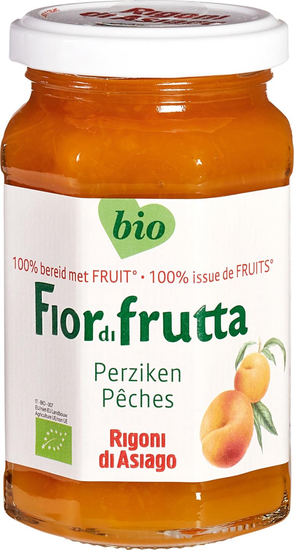 -23% SALE   Biologische Fiordifrutta Perzik fruitbeleg 250 gr
