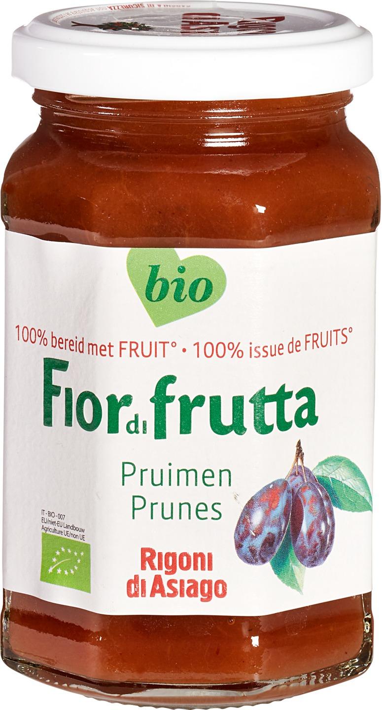 -23% SALE   Biologische Fiordifrutta Pruimen fruitbeleg 250 gr