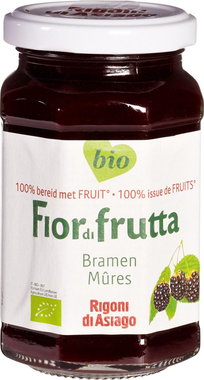 Biologische Fiordifrutta Bramen fruitbeleg 250 gr