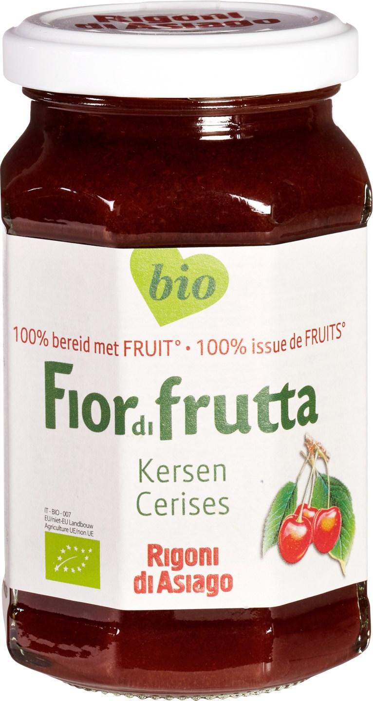 Biologische Fiordifrutta Kersen fruitbeleg 250 gr