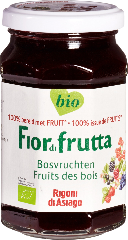 Biologische Fiordifrutta Bosvruchten fruitbeleg 250 gr