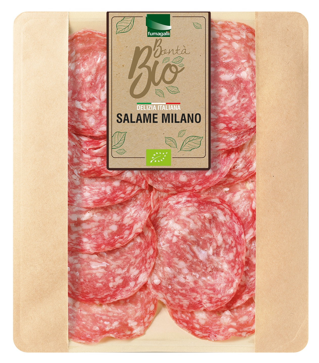 Biologische Fumagalli Salami Milano 70 gr