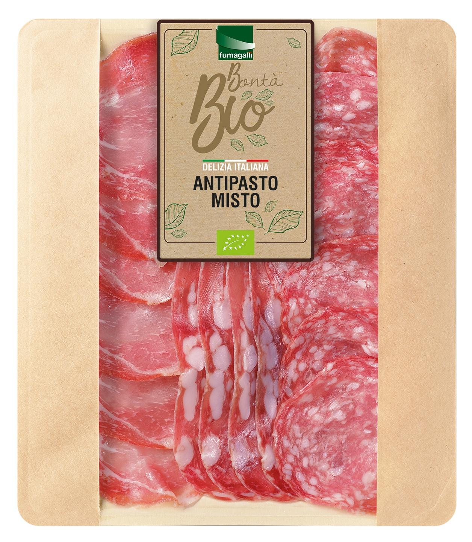 Biologische Fumagalli Antipasto misto 90 gr