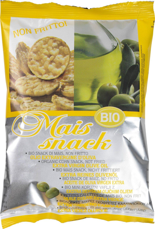 Biologische Bio Alimenti Maiswafels olijfolie 50 gr