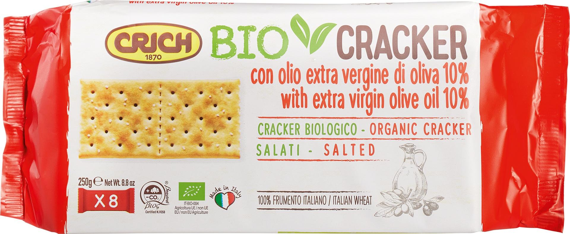 Biologische Crich BioCracker extra vergine olijfolie gez. 250 gr