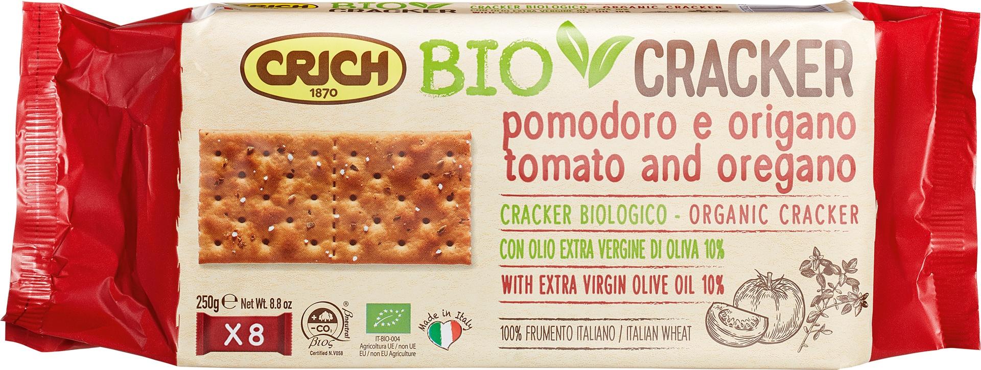 Biologische Crich BioCracker tomaat-oregano 250 gr