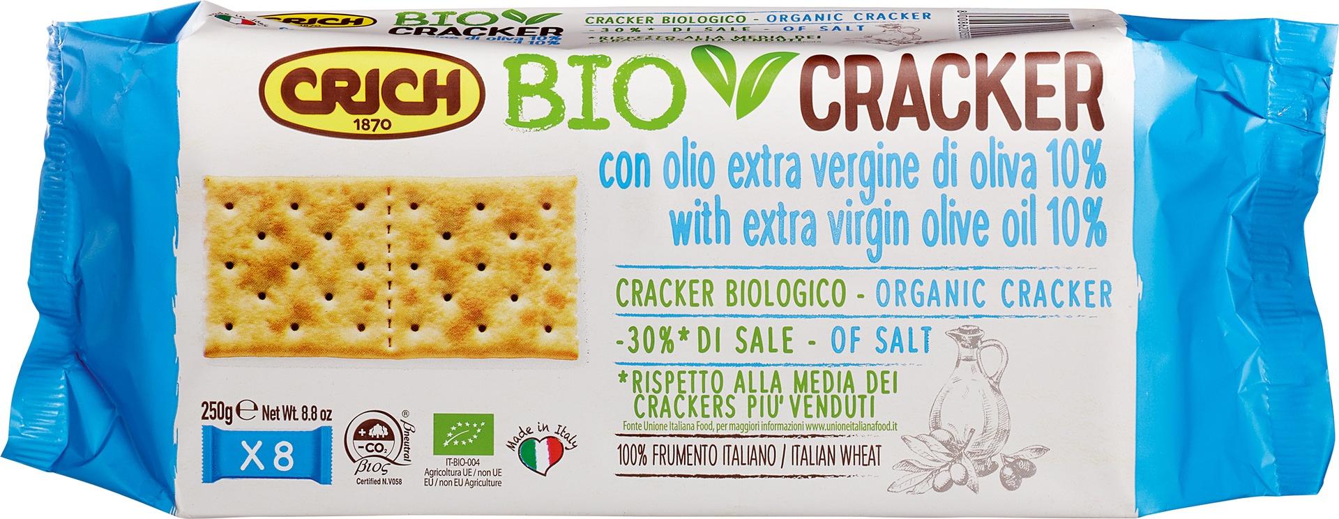 Biologische Crich BioCracker extra vergine olijfolie 250 gr
