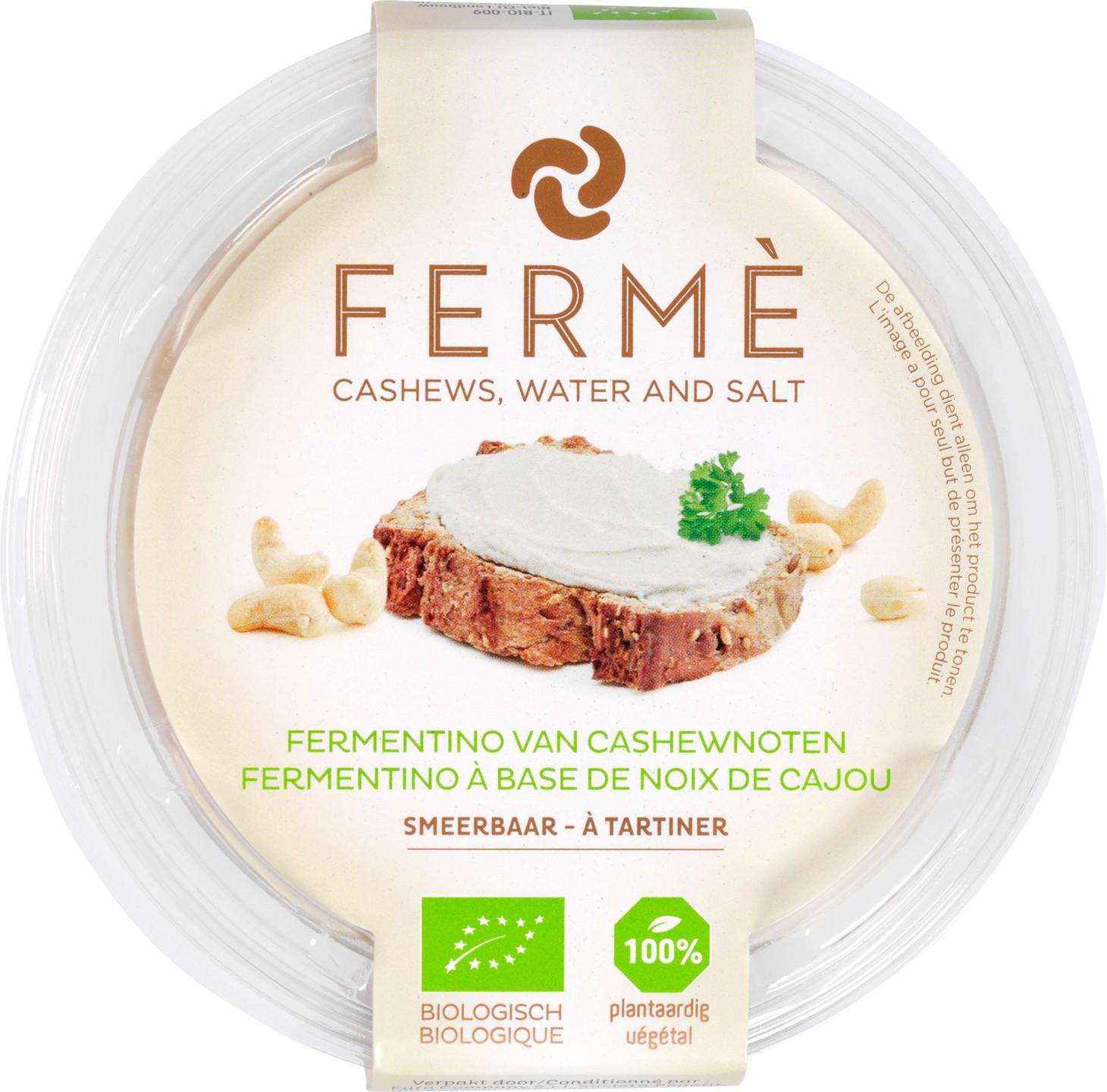 Biologische Fermé Cashew fermentino naturel 100 gr