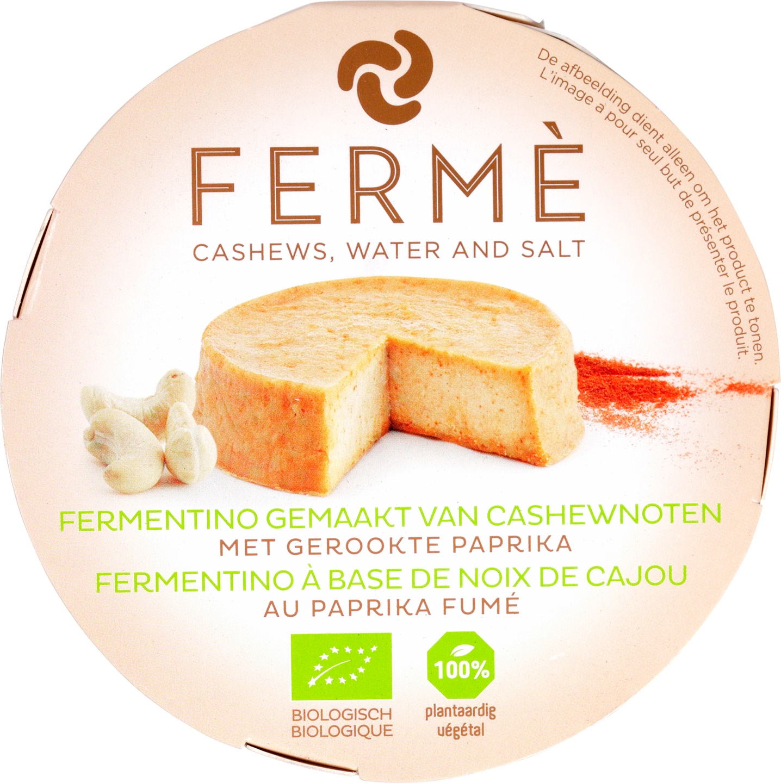 Biologische Fermé Cashew fermentino paprika 90 gr
