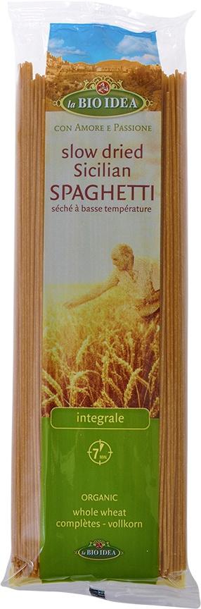 Biologische La Bio Idea Spaghetti volkoren 500 gr