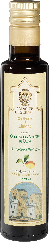 Biologische Principe di Gerace Olijfolie extra vierge citroen 250 ml