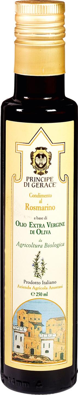 Biologische Principe di Gerace Olijfolie extra vierge rozemarijn 250 ml